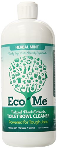 Eco-Me Toilet Bowl Cleaner, Herbal Mint, 32 Fluid Ounce