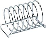 Taurus Homewares ~ Chrome Wire Spiral Toast Rack ~ Holds 6 Slices