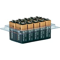 Duracell Plus MN1604 Alkaline Batteries - 9V / 6LR61 / E-Block - 10 piece