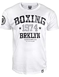 Boxing T-shirt. Thumbs Down Gym. Boxing Club. Brooklyn Club. New York. Boxe Martial Arts. MMA T-shirt