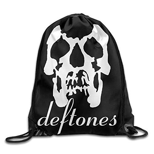 Naiyin Deftones Rock Gore Drawstring Bag,Drawstring Backpack,Sport Bag -