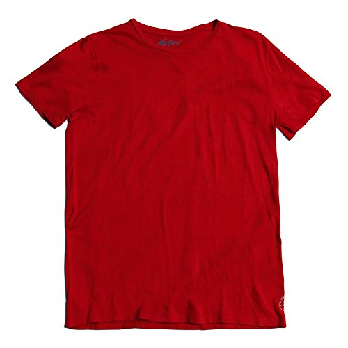 hartford-plain-cotton-tee-red-xlarge-red