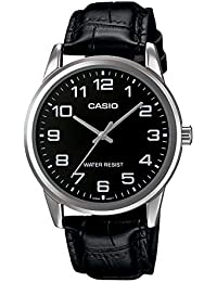 Casio Enticer Analog Black Dial Men's Watch-MTP-V001L-1BUDF (A1503)