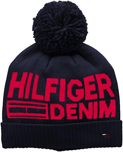 Hilfiger-Denim-Thdm-Beanie-7-Gorro-de-Punto-para-Hombre