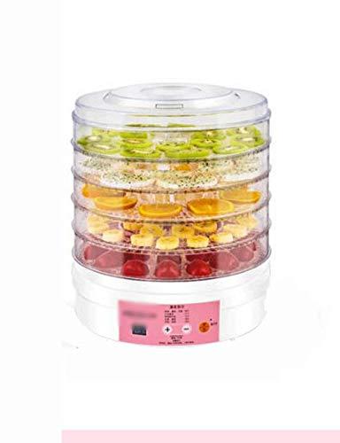 LGHHGJI Deshidratador de Alimentos, controlable por Temperatura, intervalo de Tiempo de 1~72...