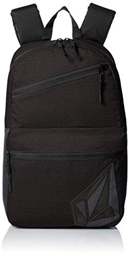 Volcom Unisex-Erwachsene Academy Backpack Rucksack, Schwarz (Black), 14 x 30 x 45 cm (Leichter Volcom Rucksack)