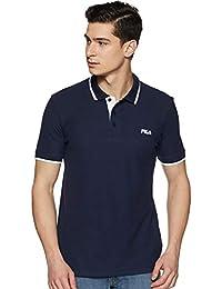 Fila Men's Solid Regular fit T-Shirt