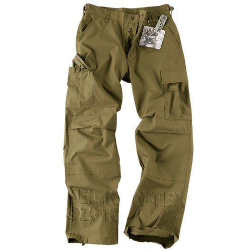 Helikon Genuine BDU Pantaloni policotone Ripstop Coyote Taglia m lungo