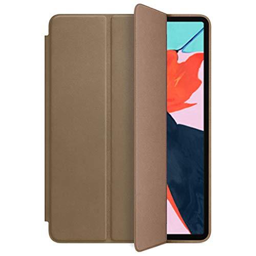 Wawer iPad Pro 11/12.9 Zoll Hülle - Luxus Schlank Stand Schutzhülle Leder Hülle Ledertasche für iPad Pro 11 Zoll /12.9 Zoll 2018 Tablet PC (Braun, für iPad Pro 11 Inch) - Luxus-leder-stand
