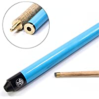 Jonny 8 Ball NEON BLUE JET JUNIOR 36 inch 2pc Ash Pool Snooker Cue - 10mm Tip