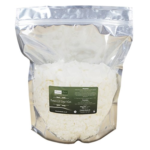 Freshskin Beauty Ltd Soja-Wachs Flocken, 1 kg (1000g), C3 Soja-Wachs - Wachs-flocken