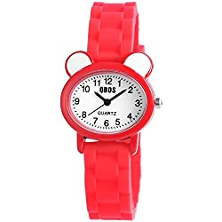 QBOS Unisex Watch Analogue Rubber Quartz RP4825000002