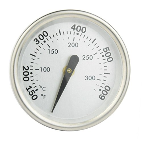 Onlyfire BBQ Charcoal Smoker Gas Grill Thermometer Temperature Gauge,2Inch (47MM)Dial, Fits for Weber Grill Models Q120,220,300,320 and Others