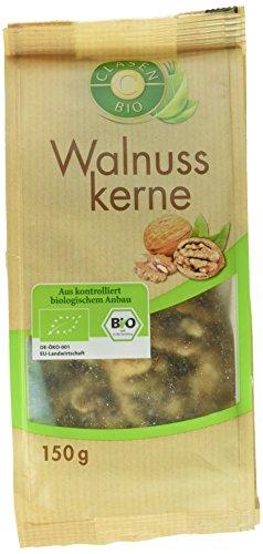 Image of Clasen Bio Walnusskerne, 2er Pack (2 x 150 g)