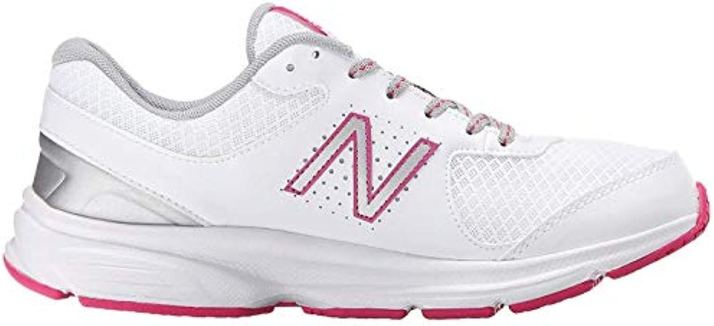 New Balance 411v2 scarpe Wouomo Walking 5.5 bianca-rosa bianca-rosa bianca-rosa | Qualità Affidabile  c65835