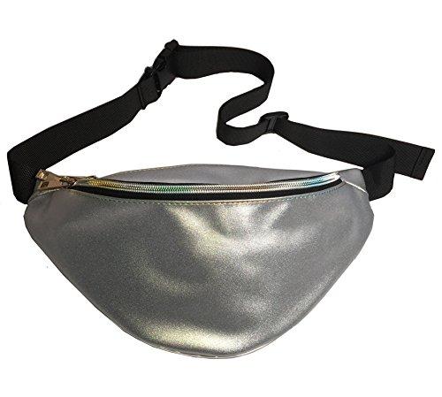 Flada, Borsa a zainetto donna bianco Style 1 medium Silver