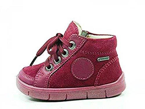 Superfit 1-00426 Ulli Mädchen Sneaker Schuhe Halbschuhe Weite Mittel IV Goretex, Größe:19;Farbe:Rot (Mädchen Sneaker Weite)