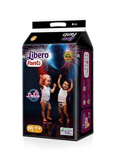 Libero Medium Size Diaper Pants (40 Counts)