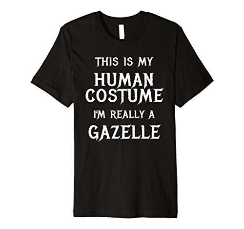 Ich bin, wirklich Gazelle Halloween-Kostüm Shirt einfach Funny