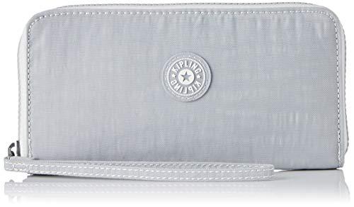 Kipling Zubehör (Kipling Damen Alia Geldbörse, Grau (Active Grey Bl), 19x10x2 cm)