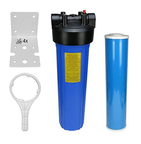 Hauswasserfilter Gehäuse 20 BigBlue mit Eisenfilter für Haus, Garten, Brunnen, Pool | Küche und Esszimmer > Küchengeräte > Wasserfilter | Trinkwasserladen