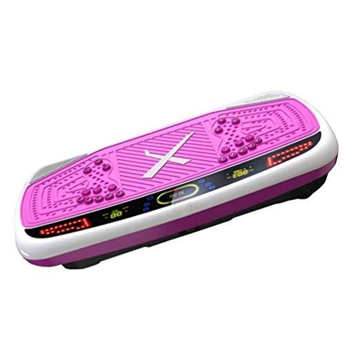 PPSZQ Vibrationsplatte Rüttelplatte für Fitnessgeräte, Fatburner, Ganzkörpertraining, Trainer, Body Toning für Bauch, Oberschenkel und Gesäß