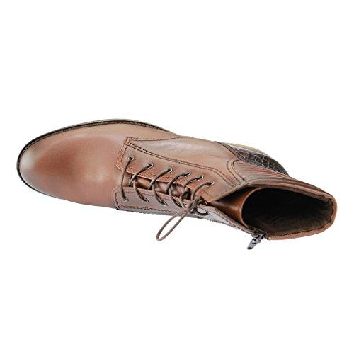 Gabor Gabor Fashion, Stivali classici imbottiti a gamba corta donna Marrone (castagno/teak(Eff))