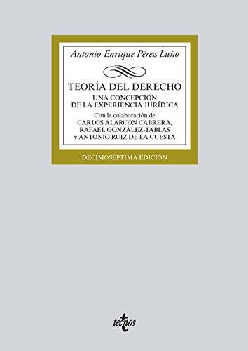 Teoría del Derecho: Una concepción de la experiencia jurídica (Derecho - Biblioteca Universitaria De Editorial Tecnos)