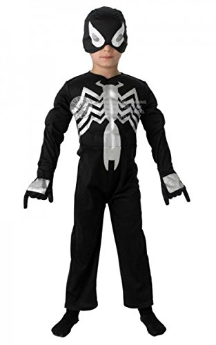 Kinder Kostüm-Spiderman- Lic., groß, ()