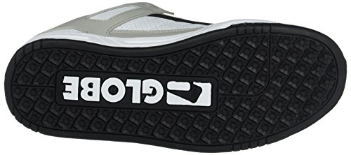 Globe Tilt, Chaussures de skateboard homme Blanc (White/Grey/Black)