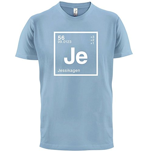 Jessika Periodensystem - Herren T-Shirt - 13 Farben Himmelblau