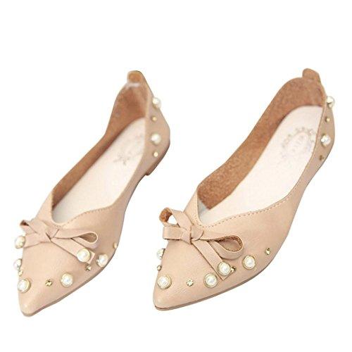 Fuibo , Chaussures bateau pour femme Marron