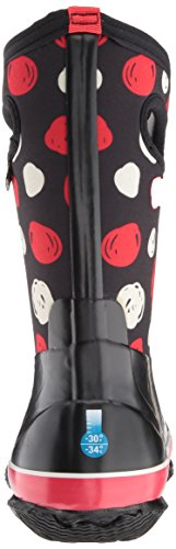 Bogs Kids Classic Sketched Dots Snow Boot Black/Multi