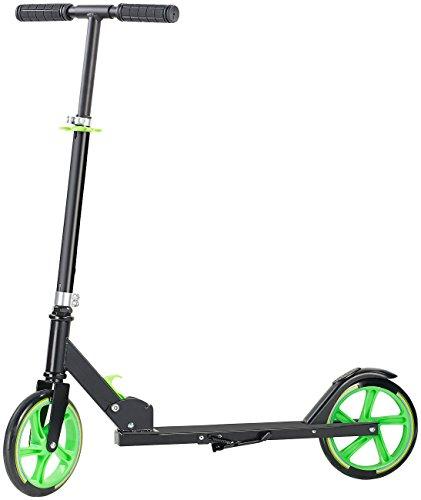 PEARL Ständer für Cityroller: Klappbarer City-Roller, XXL-Räder, Ständer, Trageriemen, bis 100 kg (Kickboard)