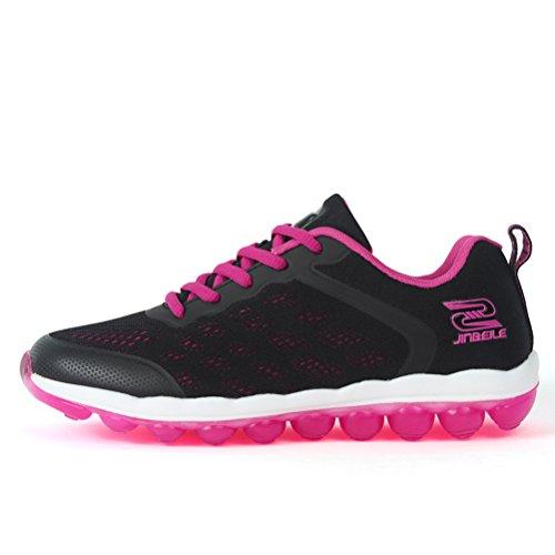 Sola Sapato Haste De Tênis Preto Borracha Curta Oco De Sapatos Mulheres De De Malha Verão Plana Viagem Geléia Rendas Belos xaH0PqYw