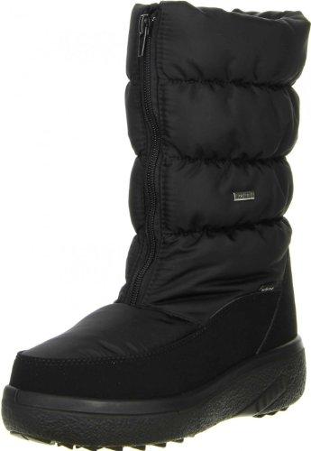 Vista Damen Winterstiefel Snowboots PROTEX schwarz, Größe:40;Farbe:Schwarz