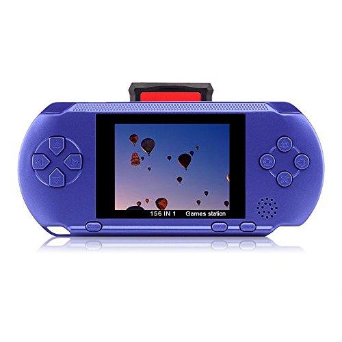 """EX1 2,7"""" LCD Portátil Consola de Juego Videojuego Batería Recargable con 328 Juegos"""