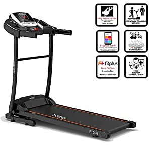 Fitkit FT098 Series (2 HP Peak) Motorized Treadmill with Free Dietitian,Personal Trainer, Doctor Consultation and Installation Services string