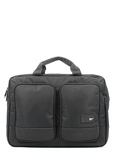 borsa portapc da lavoro Roncato 2 manici - 2 scomparti con porta pc 15,6 e portatablet (nero)