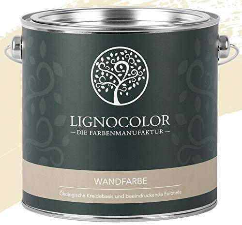 Lignocolor Wandfarbe Innenfarbe Deckenfarbe edelmatt 2,5 L (Desert)