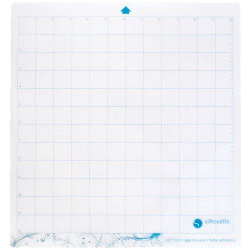 Preisvergleich Produktbild Silhouette 12,75x 11.75-inch leichtem Halt Schneidematte für Cameo, transparent
