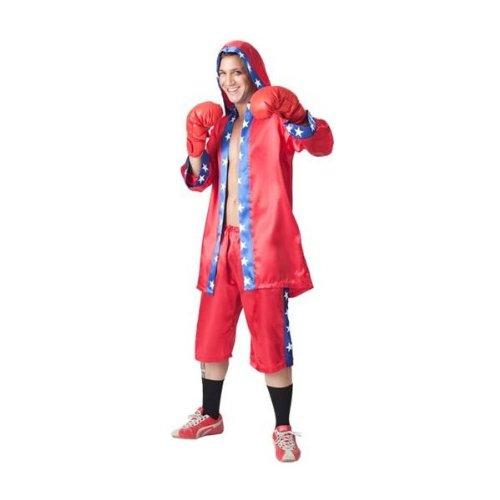 Boxer-outfit (fyasa 705993-t04Champion Fancy Kleid Kostüm, groß)