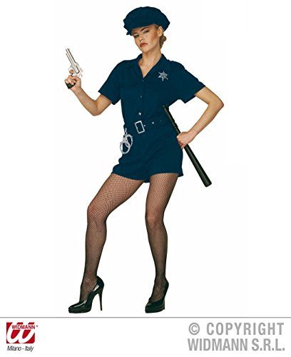 Größe 38/40 (M) (Cop Kostüm Für Frauen)