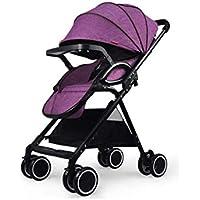 Baby-Kinderwagen Ultra Light Portable Folding Kann Auf der Hand Push-Schirm Sitzen
