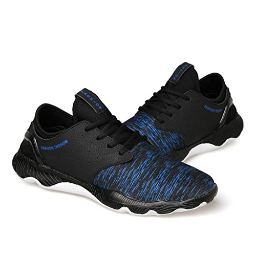 Men's Culture Lace Up Breathable PU Fabric Shoes 2