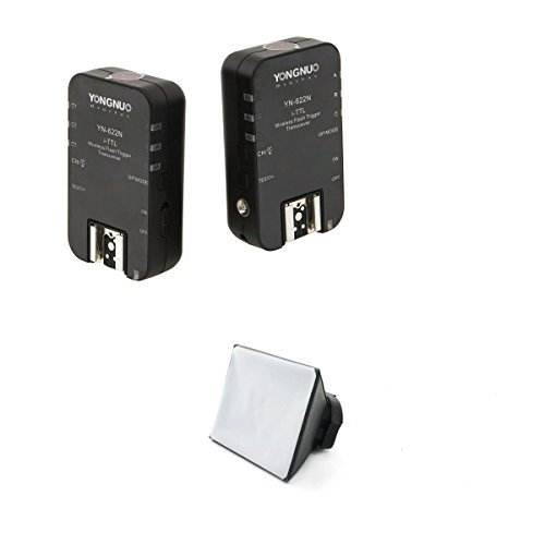 Yongnuo OS02321OS00544 - Pack de 2 disparadores para flash de Nikon
