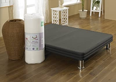 Happy Beds 2000 Stress Free Mattress Pocket Sprung Memory Foam Orthopaedic Removable Zip Cover - low-cost UK light store.
