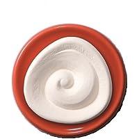 Duftstein Spirale mit orange-rotem Unterteller preisvergleich bei billige-tabletten.eu