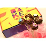 Bake Me Chocolate Cake Pops Baking Kit(In Ingredients Cake Mix, Vanilla Essence, Chocolate For Ganache, Chocolate...
