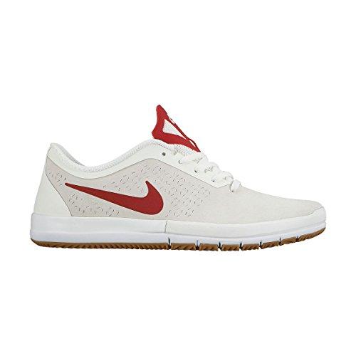 Nike Free Sb Nano 724941-001 Herren Schuhe Summit White/Gym Red